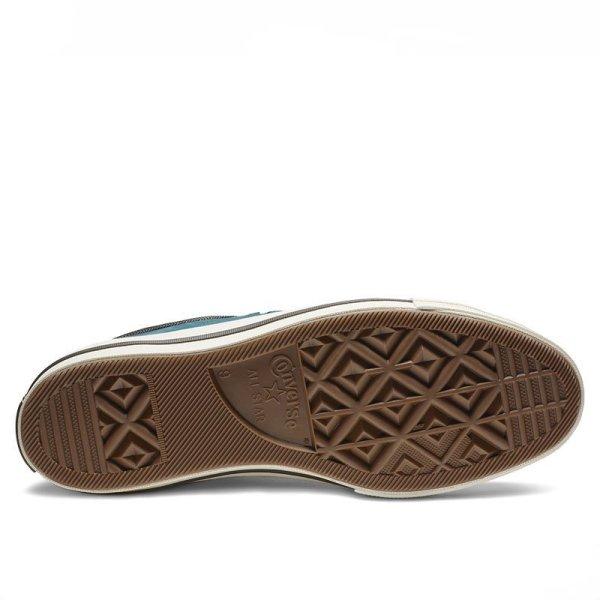 Converse boty One Star Sierra Leather Low Top Blue Fir sole