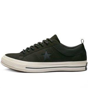 Converse boty One Star Sierra Low Top Black left