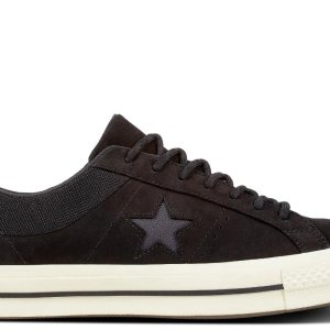 Converse boty One Star Sierra Low Top Black main