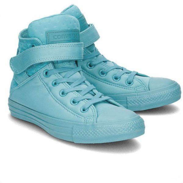 Converse All Star Brea Neoprene Aqua pair1