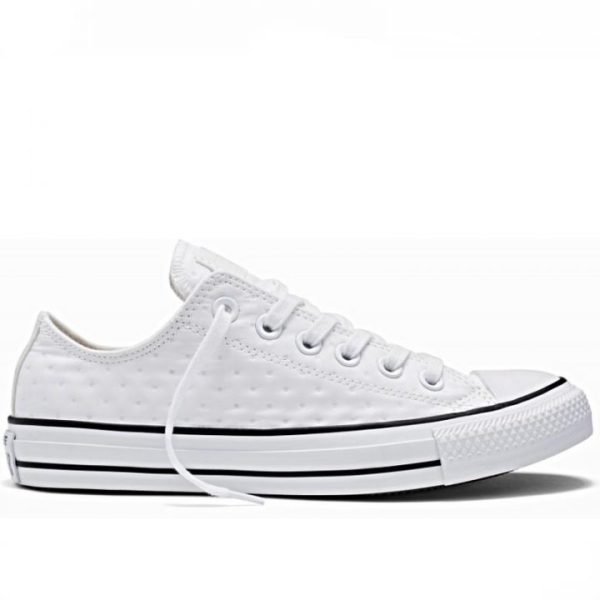 Converse damaske boty Chuck Taylor Ox Neoprene White right