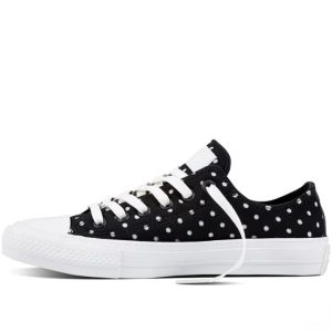 Converse boty Chuck Taylor All Star II Shield Lycra Black left