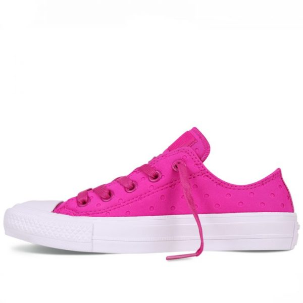 Converse boty Chuck Taylor All Star II Shield Lycra Pink left