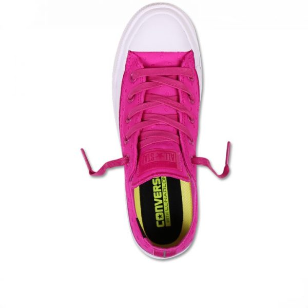 Converse boty Chuck Taylor All Star II Shield Lycra Pink top