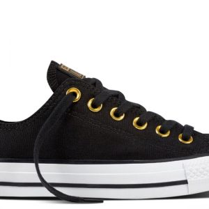 Converse boty Chuck Taylor All Star Metallic Toecap Low main