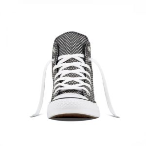 Boty Converse Chuck Taylor All Star Waven Hi Black White front