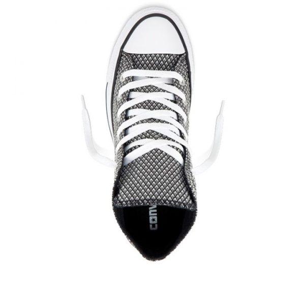 Boty Converse Chuck Taylor All Star Waven Hi Black White top