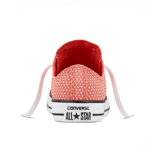 Boty Converse Chuck Taylor All Star Waven Low Ultra Red back