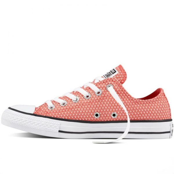 Boty Converse Chuck Taylor All Star Waven Low Ultra Red left