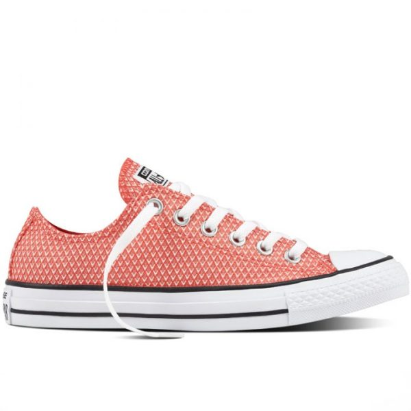 Boty Converse Chuck Taylor All Star Waven Low Ultra Red right