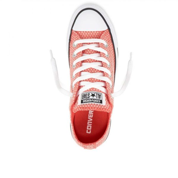 Boty Converse Chuck Taylor All Star Waven Low Ultra Red top