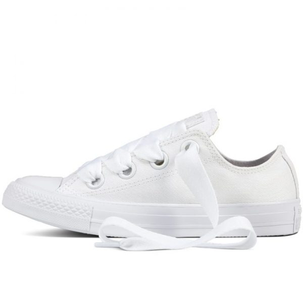 Damske Boty Converse Chuck Taylor Big Eyelets White Low left