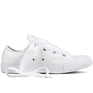 Damske Boty Converse Chuck Taylor Big Eyelets White Low right