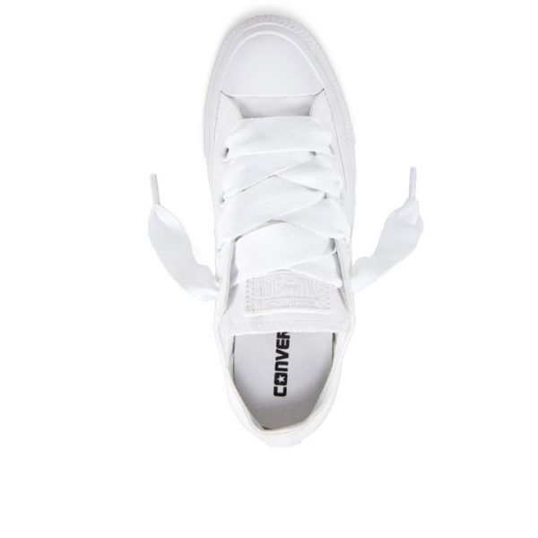 Damske Boty Converse Chuck Taylor Big Eyelets White Low top