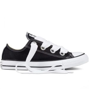 Converse boty Chuck Taylor All Star Big Eyelets OX Black roght