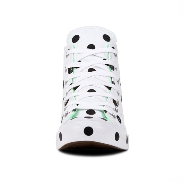 Converse boty Chuck Taylor All Star Dots White Hi front