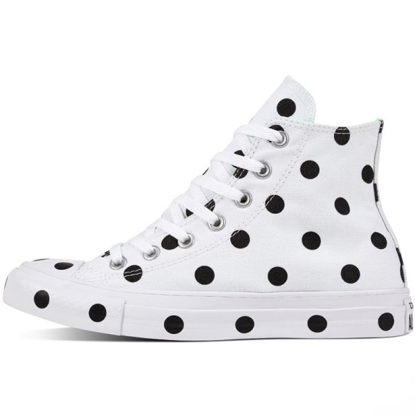 Converse boty Chuck Taylor All Star Dots White Hi left