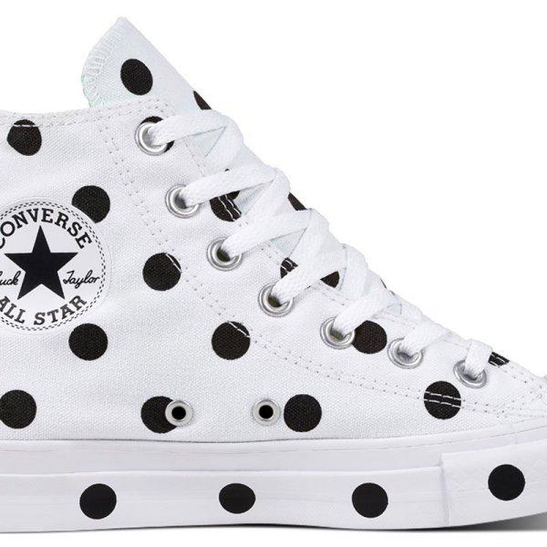 Converse boty Chuck Taylor All Star Dots White Hi main