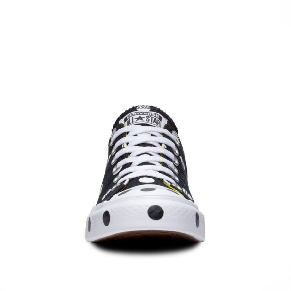 Converse boty Chuck Taylor All Star Dots Black Low front