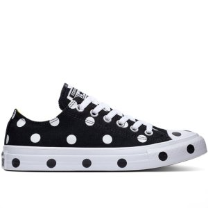Converse boty Chuck Taylor All Star Dots Black Low right