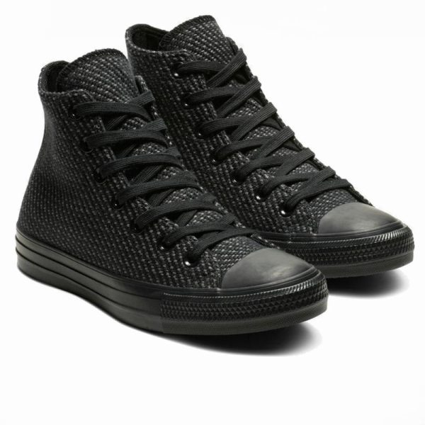 Converse boty Chuck Taylor All Star Wonderland High Top Black angle