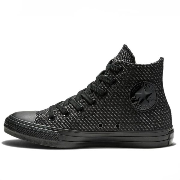 Converse boty Chuck Taylor All Star Wonderland High Top Black left