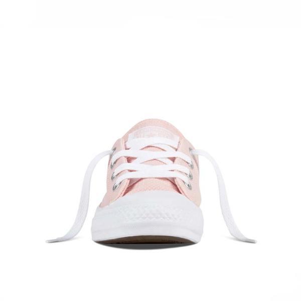Converse boty Chuck Taylor Coral Vapor Pink front