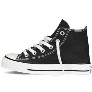 Converse dětské boty All Star Black Kids left