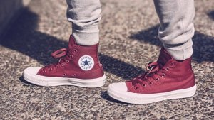C150144 Converse boty Chuck Taylor All Star II Core Deep Bordeaux