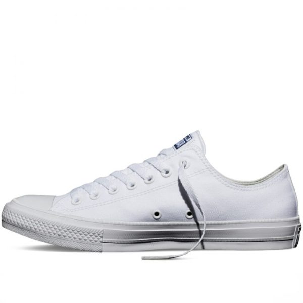 Converse boty Chuck Taylor All Star II Core White Low left