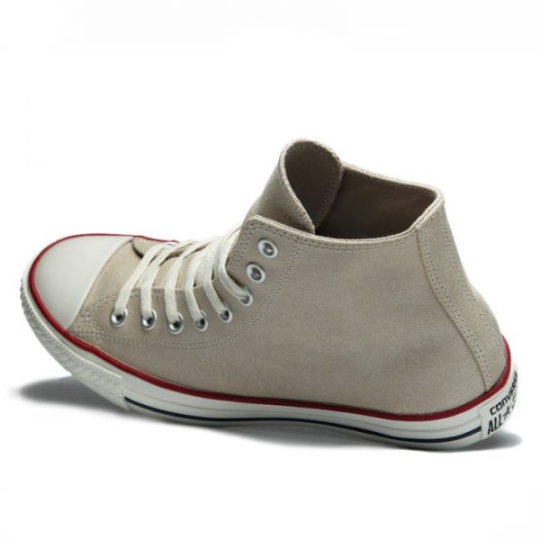 C144764 Converse boty Chuck Taylor All Star Suede Portrait Gray
