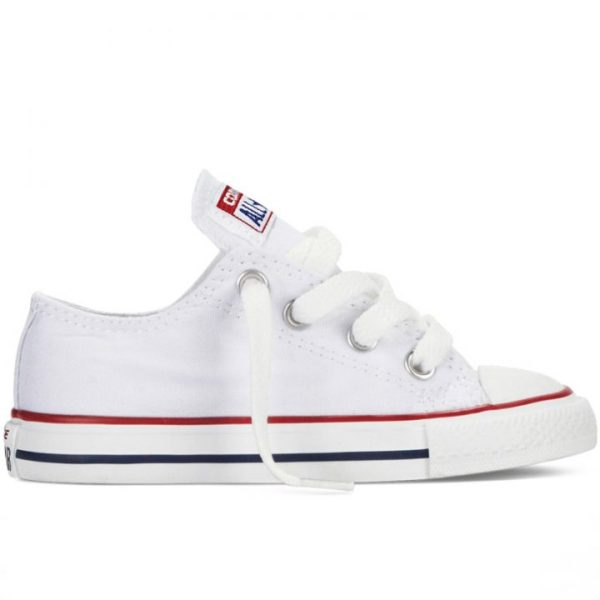 Boty Converse Chuck Taylor All Star White Low dětské right