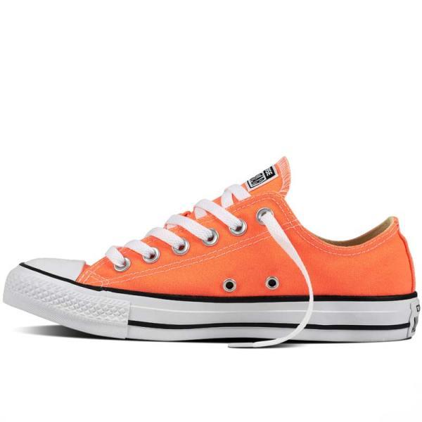 Converse boty Chuck Taylor Fresh Colors Hyper Orange left