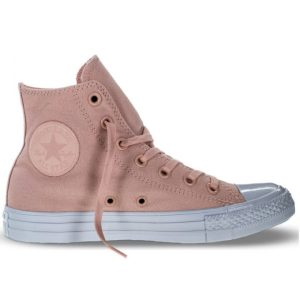 Converse Boty Chuck Taylor All Star Platinum Midsoles right