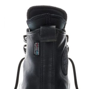 Converse boty Chuck Taylor WP Boot Leather Black detail1