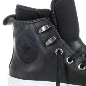 Converse boty Chuck Taylor WP Boot Leather Black detail2