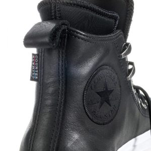 Converse boty Chuck Taylor WP Boot Leather Black detail3