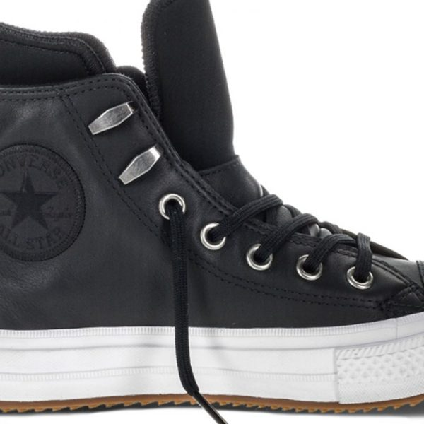 Converse boty Chuck Taylor WP Boot Leather Black main