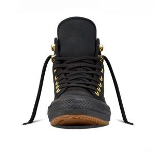 Converse boty Chuck Taylor WP Nubuck Boot Black front