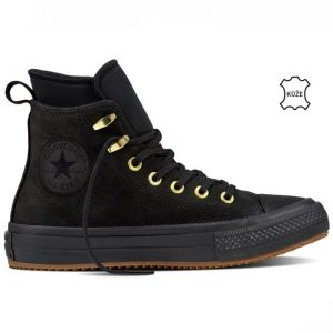 Converse boty Chuck Taylor WP Nubuck Boot Black right