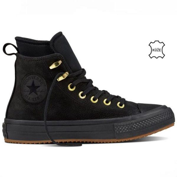 Converse boty Chuck Taylor WP Nubuck Boot Black right