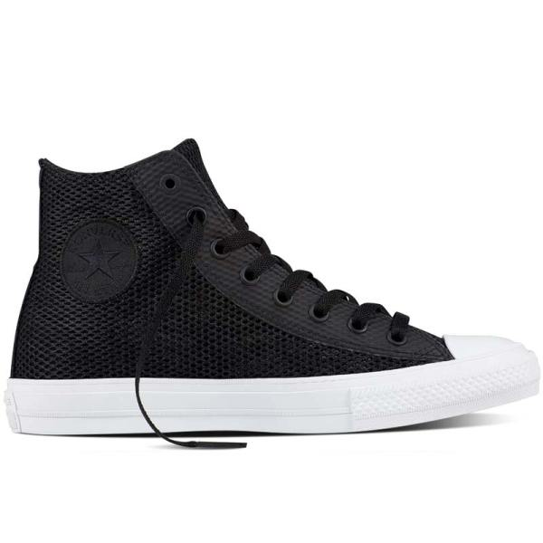 Converse boty Chuck Taylor II Open Knit Black right1