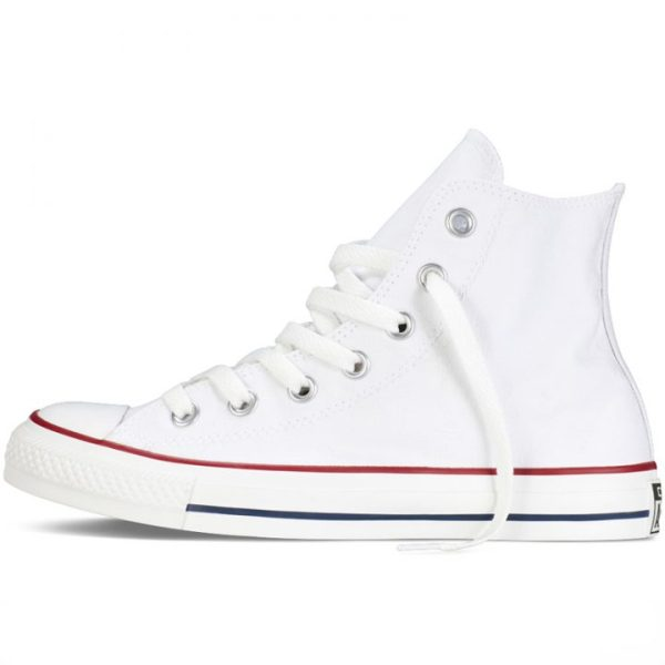Converse boty All Star Chuck Taylor Hi Optical White left