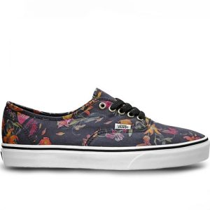 Vans boty U Authentic Black Bloom
