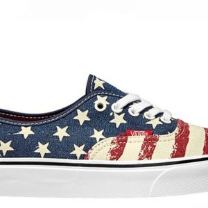Vans dámské boty Authentic Americana Dress Blues main