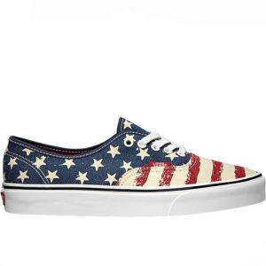 Vans dámské boty Authentic Americana Dress Blues right