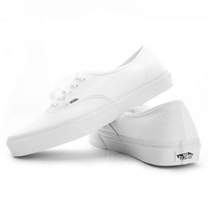 Vans boty Authentic White pair