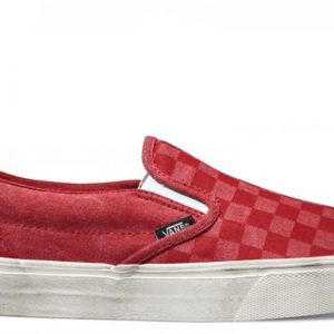 Vans boty Classic Slip-on Overwashed Red main