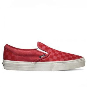 Vans boty Classic Slip-on Overwashed Red right