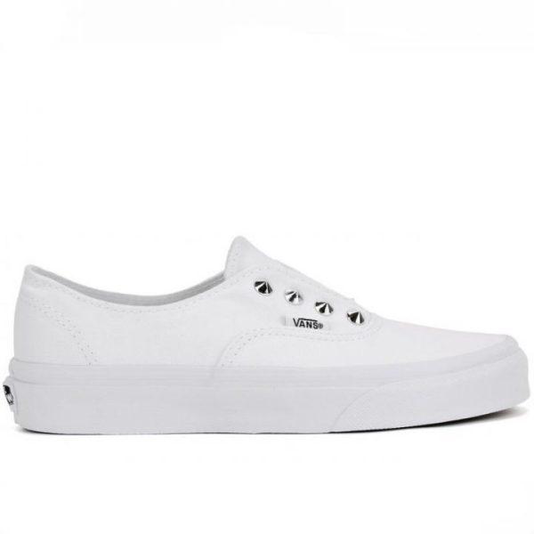 Vans boty Slip-on Authentic Gore Studs White right